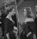 All About Eve (1950) - Eve & margo party dresses similar - side view - bee hive